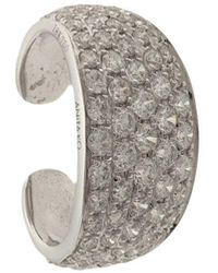 Anita Ko - 18kt White Gold Galaxy Diamond Ear Cuff - Lyst
