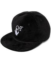 Off-White c/o Virgil Abloh Кепка С Вышитым Логотипом - Черный