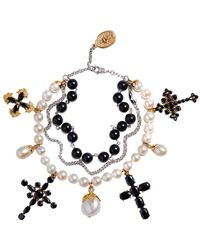 Dolce & Gabbana Браслет Family Из Бусин - Металлик