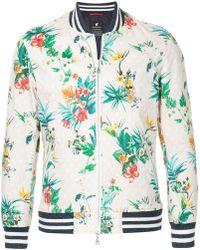 Loveless - Floral Bomber Jacket - Lyst