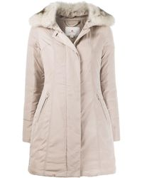 low priced 65711 53a77 Zipped Parka Coat - Multicolour