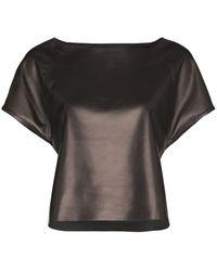 SKIIM Wai Boat-neck Top - Black