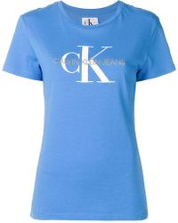 Calvin Klein Jeans - Logo Print T-shirt - Lyst