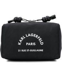 Karl Lagerfeld Косметичка Rue St. Guillaume - Черный