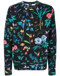PS by Paul Smith - Floral Print Sweatshirt - Lyst
