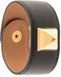Hermès 'Medor' Armband - Schwarz
