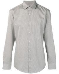 BOSS - Micro Bow Pattern Shirt - Lyst