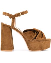 Gianvito Rossi - Sandales Rica Texas - Lyst