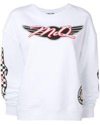 McQ Racing Sweatshirt - White