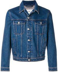 AMI - Denim Jacket - Lyst