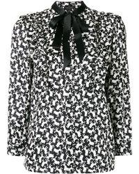 Marc Jacobs ボウタイシャツ - ブラック