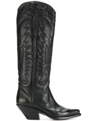 Buttero - Tall Western Boots - Lyst