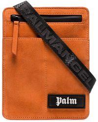 Palm Angels ロゴ メッセンジャーバッグ - オレンジ
