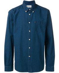 Barbour 1 Tf シャツ - ブルー