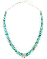 Jacquie Aiche 14kt Rose Gold Multi-stone Necklace - Green
