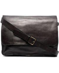 Officine Creative Large Leather Shoulder Bag - Black
