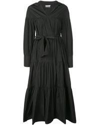 Co. ギャザー シャツドレス - ブラック