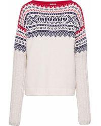 Miu Miu ウール セーター - ホワイト