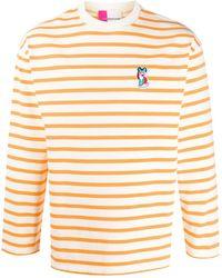 Maison Kitsuné パッチ Tシャツ - オレンジ