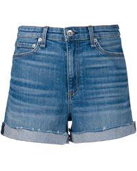 Rag & Bone Classic Denim Shorts - Blue
