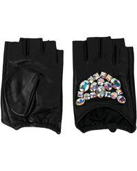 Karl Lagerfeld 'Geo' Handschuhe - Schwarz
