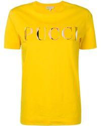 Emilio Pucci - ロゴプリント Tシャツ - Lyst