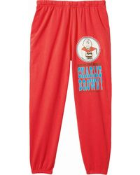 Marc Jacobs X Peanuts 'the Gym Pant' トラックパンツ - レッド