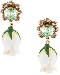 Dolce & Gabbana ドロップ イヤリング - マルチカラー