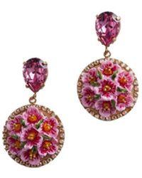 Dolce & Gabbana - Серьги-подвески - Lyst