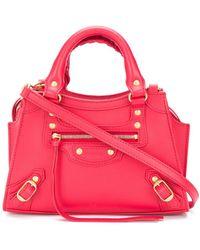 Balenciaga Маленькая Сумка-тоут Neo Classic - Красный