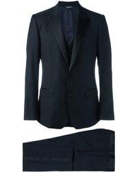 Dolce & Gabbana スリーピース ディナースーツ - ブルー