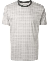 Cerruti 1881 - チェック Tシャツ - Lyst