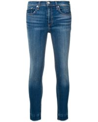 Rag & Bone - Klassische Skinny-Jeans - Lyst