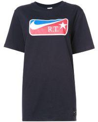 Nike - Lab X Rt Logo Print T-shirt - Lyst