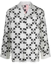 Off-White c/o Virgil Abloh Пижама С Логотипом Arrows - Многоцветный