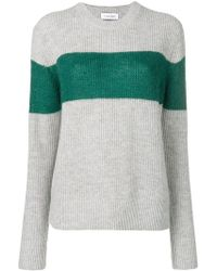 Calvin Klein - Colour-block Fitted Jumper - Lyst