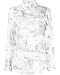 Thom Browne - Camicia con stampa - Lyst