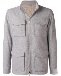 Eleventy Four-pocket Jacket - Grey