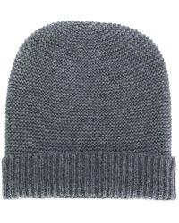 N.Peal Cashmere Шапка Бини - Серый