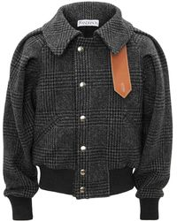 JW Anderson Ruched Sleeve Bomber - ブラック