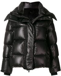 Juun.J Short Padded Jacket - Black