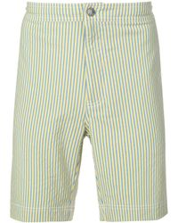 Onia Striped Swimming Shorts - Yellow