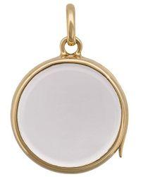 Loquet London Medium Round Gold Locket pendant - Multicolore