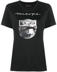 Diesel Black Gold T-shirt à imprimé photographique - Noir