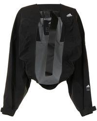 adidas Oversized Bomberjack - Zwart