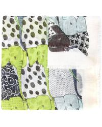 Marc Cain - Long Printed Scarf - Lyst
