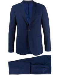 PS by Paul Smith Tailored Two-piece Suit - Blue