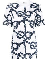 Monse ロープ Tシャツ - ホワイト