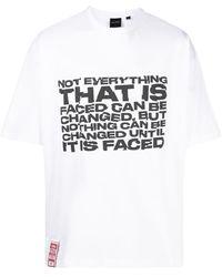 Daily Paper スローガン Tシャツ - ホワイト