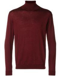 Collina Roberto Roll Lyst Neck Sweater Y1Y7Aqzw